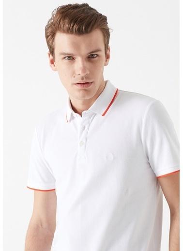 Mavi Erkek  Polo Tişört 065933-620 Beyaz